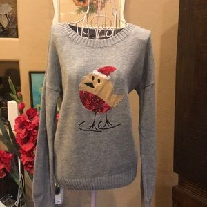 Little Cheeper Holiday Sweater Size L